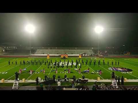 Marion High School marching band 10-13-17