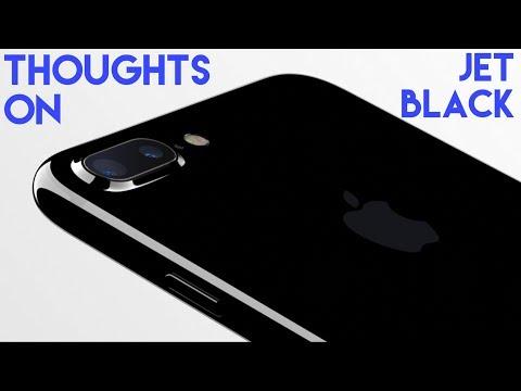 Jet Black iPhone 7 Plus Review