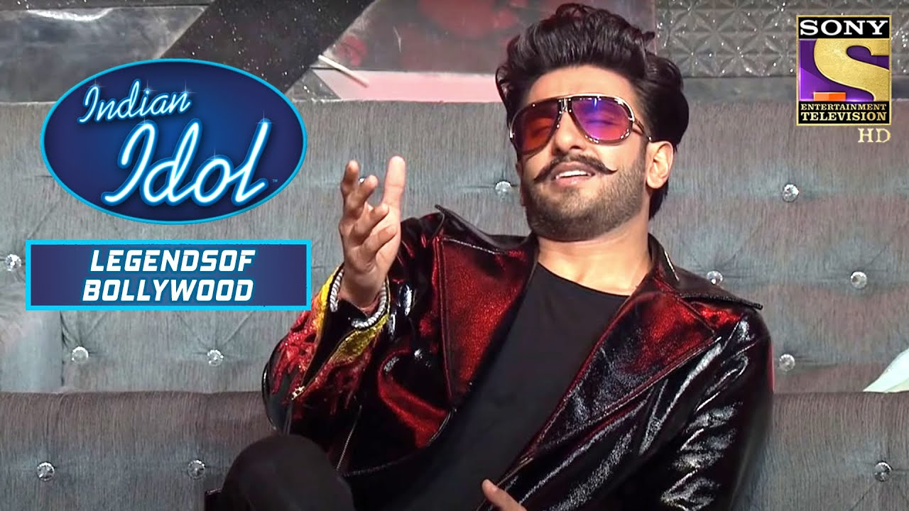 """Download Ranveer Singh को """"Laal Ishq"""" पे ये Cover लगा Astounding   Indian Idol   Legends Of Bollywood"""
