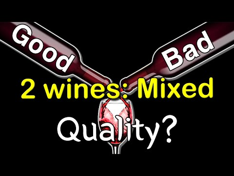 Tricking a master by blending good wine & bad one! How does he like it?