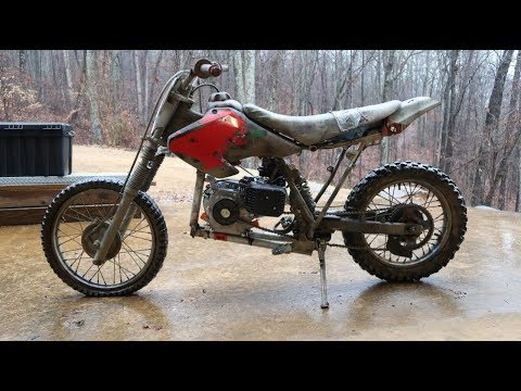 Preadator Engine In A Dirt Bike