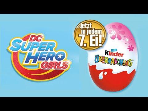 Surprise Eggs 2017 DC Comics Edition Super Hero Girls NEW