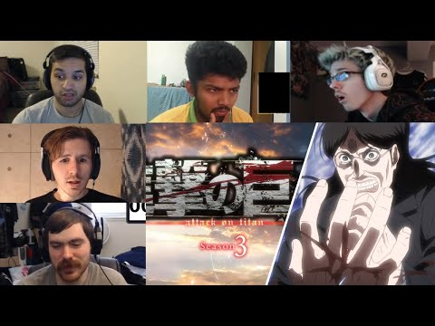 Attack On Titan :Shingeki No Kyojin Season 3 Episode 6 Reaction
