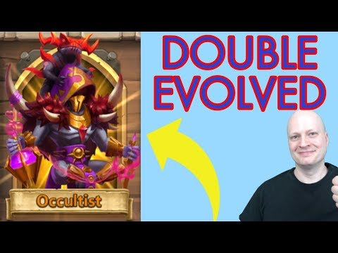 Occultist Double Evolved | Castle Clash | Castle Clash Game Play