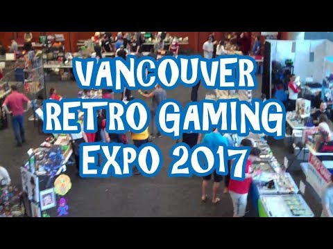 Vancouver Retro Gaming Expo 2017 VRGE
