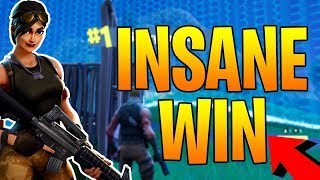 WINNING WITHOUT KILLING LAST PERSON! - Fortnite Battle Royale Pacifist Match