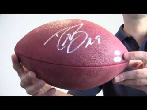 f8d0008b0 Drew Brees Autographed Football - PSA/DNA - YouTube