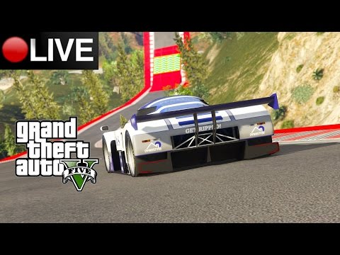 GTA V ONLINE STREAM (BUILD STUNT RACE) 2.8.2016