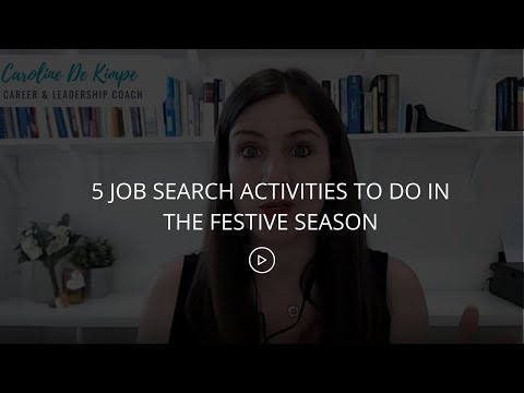 5-job-search-activities-to-do-in-the-festive-season-you'll-be-on-the-back-foot-if-you-wait-for-nex