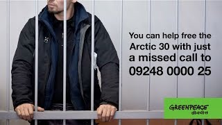 stand with the arctic 30 give a missed call on 09248000025