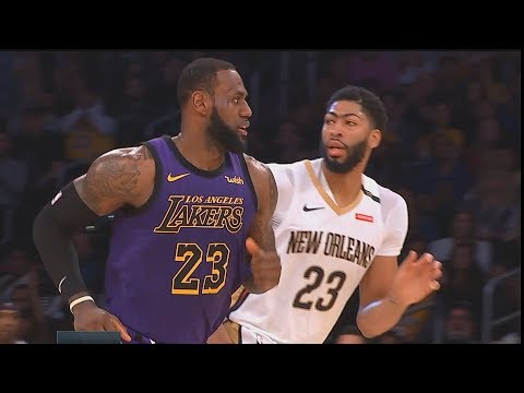 LeBron James Making Anthony Davis Want To Join Lakers After Destroying Pelicans! Lakers vs Pelicans