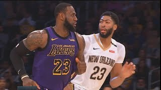 LeBron James Makes Anthony Davis Want To Join Lakers After Destroying Pelicans! Lakers vs Pelicans
