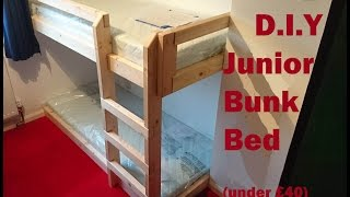 2nd recent Bunk bed project, this one is smaller and fitted into an