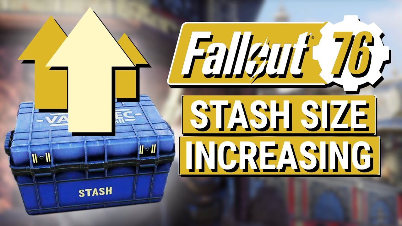 FALLOUT 76: Bethesda Promises Increased STASH SIZE!! (B E T A  Thank You  and Addressing Feedback)
