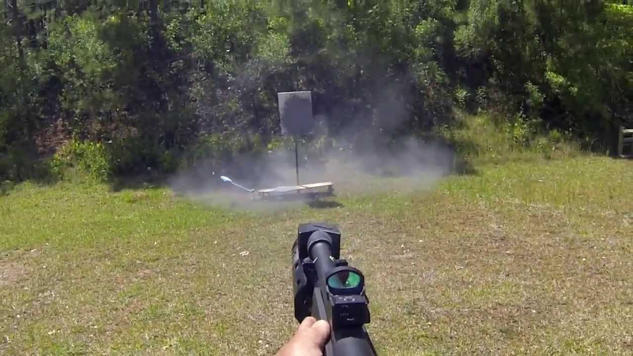 23 rounds in 3 73 seconds with a Mossberg 930 shotgun