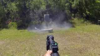23 rounds in 3.73 seconds with a Mossberg 930 shotgun