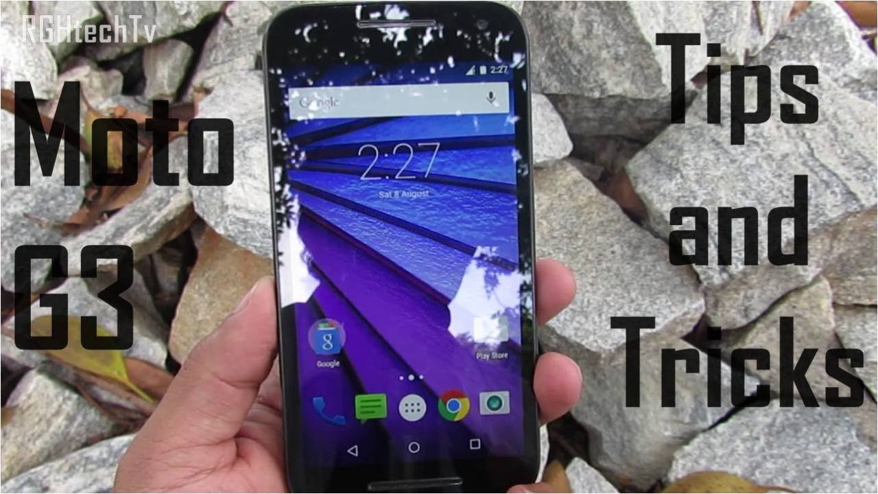 Motorola Moto G 3rd Generation Tips And Tricks Youtube