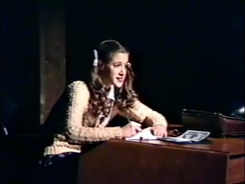 """""""The Diary of Anne Frank"""", Lee College, 1994"""