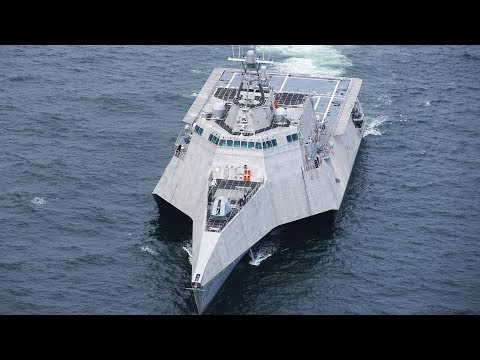 US Navy Ships Demonstrate Their Defence Systems [Training Exercises]