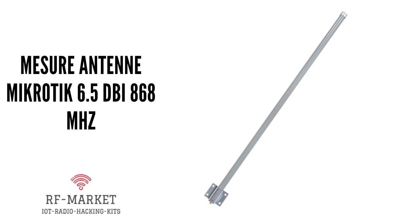 Download Mesure de l'antenne Mikrotik lorawan 6.5 dbi avec un Nanovna