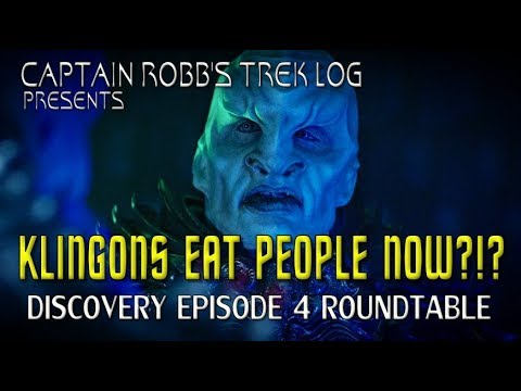 Captain Robb's Trek Log Episode 1 Discovery Ep 4 & Orville Ep 5 Roundtable
