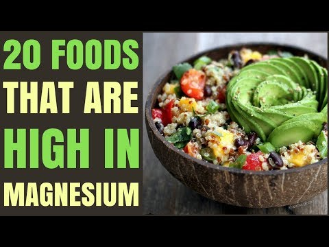 Foods With Magnesium / Top 20 Magnesium Food Sources