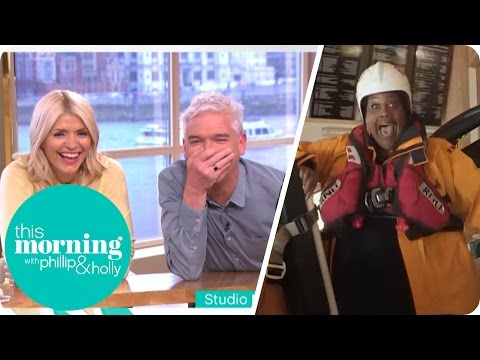 Alison Loses It During a Lifeboat Launch | This Morning