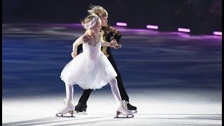 Александр Плющенко 7 лет и София Сарновская 8 лет в шоу Лебединое озеро Евгения Плющенко