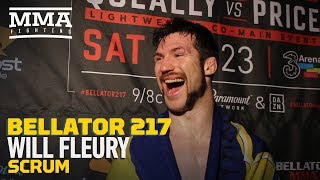Bellator 217: Will Fleury Thinks Shaun Taylor Missed Weight Purposely to Avoid Fight - MMA Fighting