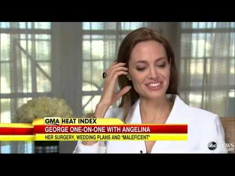 Angelina Jolie Talks 'Maleficent,' Health, Politics and Her Wedding to Brad Pitt