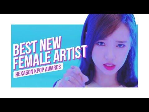 [HEXA6ON KPOP AWARDS] Best New Female Artist Nominees