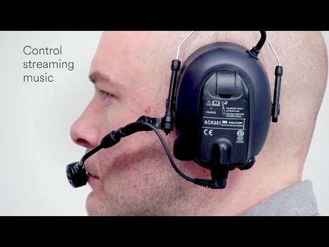 3M™ PELTOR WS LiteCom PRO III Headset - Bluetooth Communication - MT73H7A4D10-NA