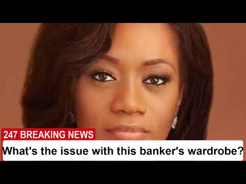 What's the issue with this banker's wardrobe? |247 Breaking News