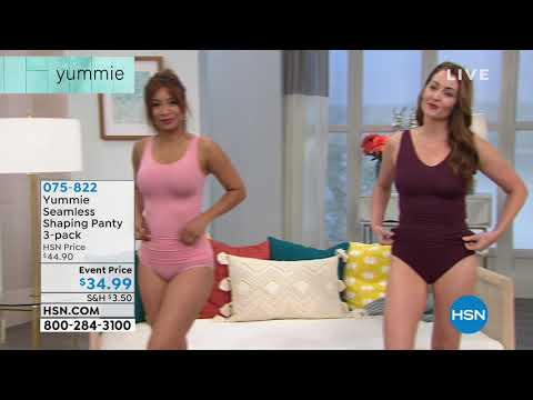 Yummie Seamless Shaping Shortie 3pack.  http://bit.ly/2mnc3w8
