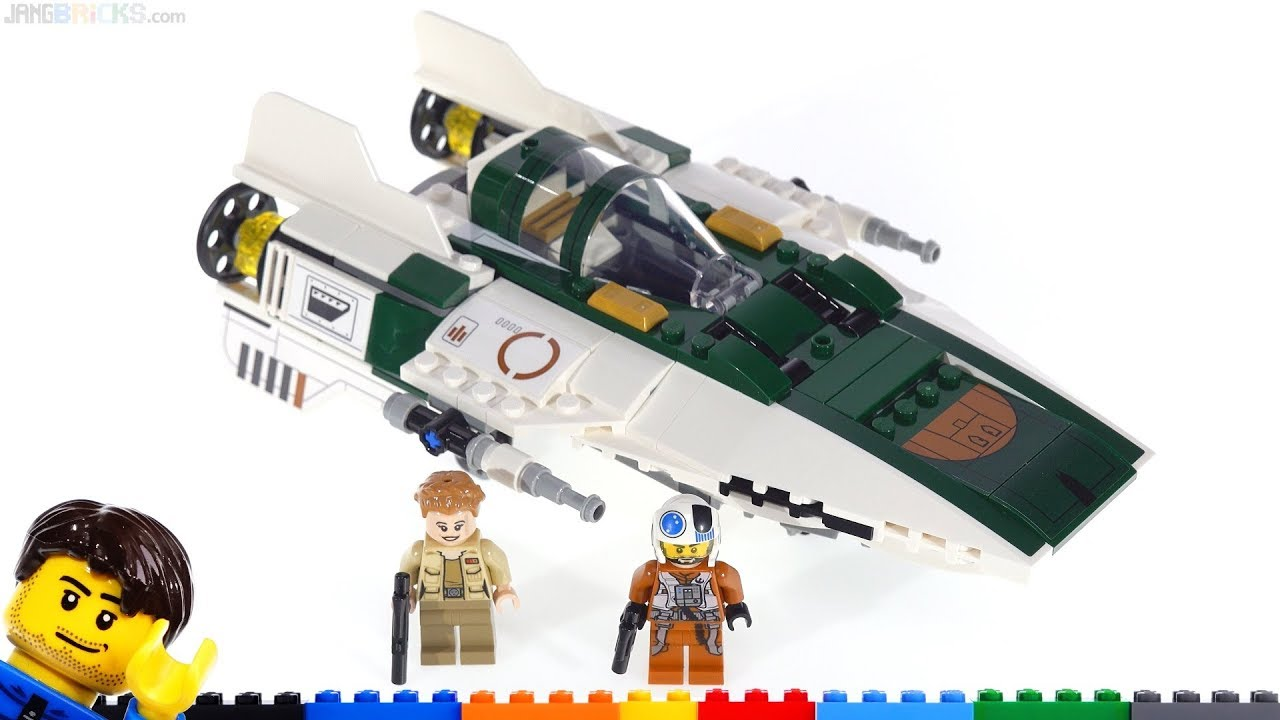 Lego Star Wars Resistance A Wing Quick Review Long Thoughts Viewer Qs Answered 75248 Youtube