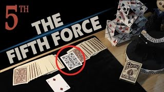How to force a card - Psychological force - The Fifth Force