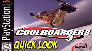 Cool Boarders 3! Quick Look - YoVideogames