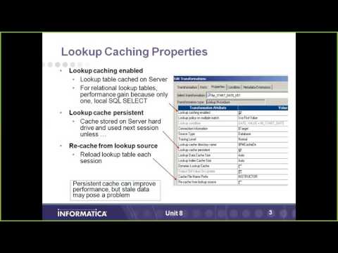 Informatica : LookUp Caching (Theory)