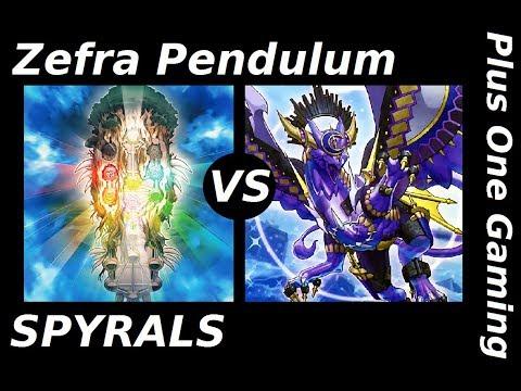Yu-Gi-Oh! Zefra Pendulum vs SPYRALS - Plus One Gaming