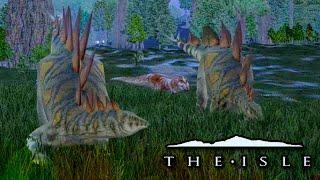Stegosaurs Ambushed!! - The Isle
