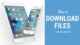 Download Any kind of file in Iphone/Ipad. (Ios7/8/9)