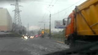 Ливень в Сызрани 10 07 13 ч2