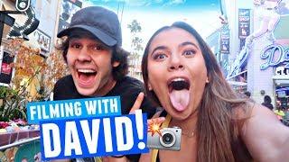 HOW DAVID DOBRIK FILMS HIS VLOGS! Video