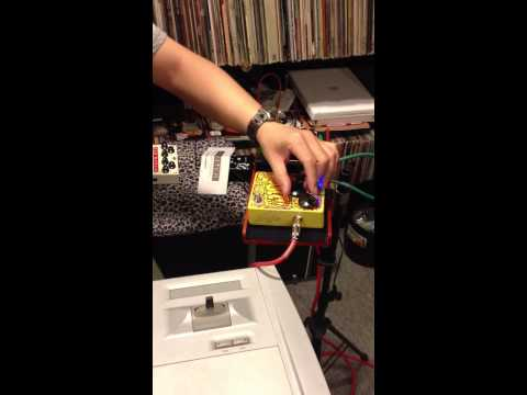 Just for fun - When keyboard meet Fuzz pedal - Hong Kong Music Store video