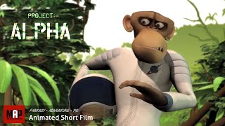 "CGI 3D Animated Short Film ""PROJECT ALPHA"" Adventurous Comedy Animation by The Animation Workshop"
