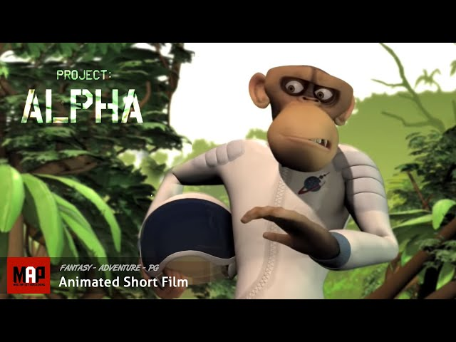 Project Alpha | The Official story of World's first monkey in space (The Animation Workshop)