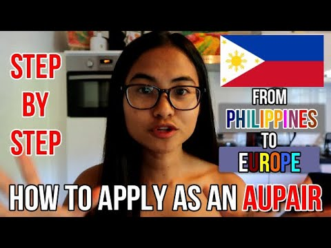 HOW TO BECOME AN AU PAIR FROM PHILIPPINES | STEP BY STEP