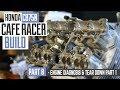 Honda CB750 Cafe Racer Part 8 - Engine diagnosis & tear down part 1