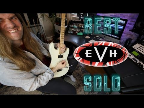 Learning The Best Van Halen Solo ( It's Not Eruption!)