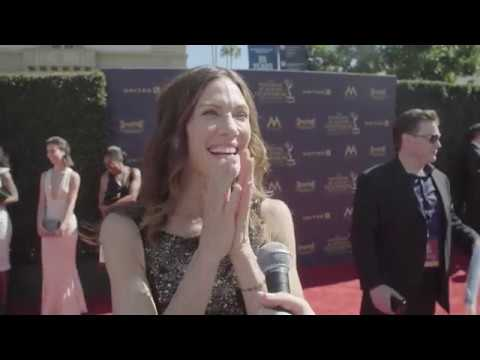 Young and the Restless on the red carpet at the 44th Daytime Emmys
